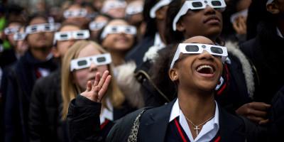 Gli Stati Uniti si preparano per l'eclissi solare totale