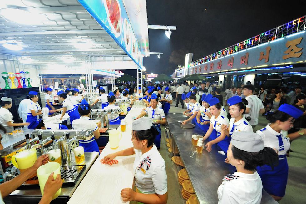 Festa della birra Pyongyang