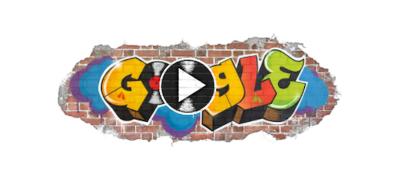 Il doodle di Google per celebrare la storia dell'hip hop