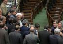 I parlamentari iraniani criticati per i loro selfie con Federica Mogherini