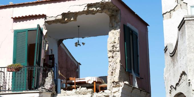 Il terremoto a Ischia