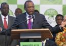 Uhuru Kenyatta ha vinto in Kenya