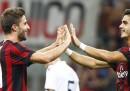 Il Milan ha vinto 6-0 contro lo Shkendija nell'andata dei playoff di Europa League
