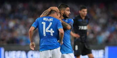 Il Napoli ha battuto il Nizza 2-0 e si è qualificato ai gironi di Champions League