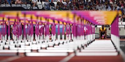 Foto di una settimana di Mondiali di atletica