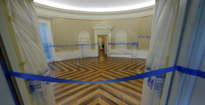 Avete mai visto lo Studio Ovale vuoto?