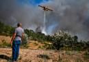 La città portoghese di Mação, a nord est di Lisbona, è rimasta isolata a causa di un incendio