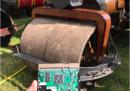 Tutti i libri incompiuti di Terry Pratchett sono stati distrutti da un rullo compressore