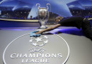 Champions League: i sorteggi in diretta tv e in streaming