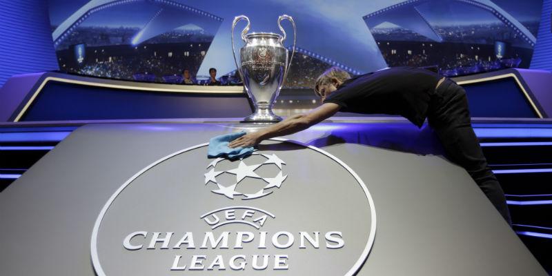 Champions League, le fasce per il sorteggio dei gironi: Napoli in terza