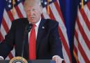 Trump non ha condannato la destra razzista, parlando di Charlottesville