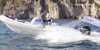 In Croazia ci sono le barche di Uber