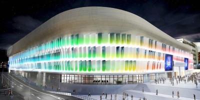 La U Arena, il nuovo stadio di Parigi