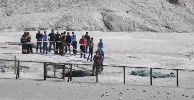 Tre persone sono morte alla Solfatara di Pozzuoli