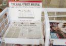 Il Wall Street Journal non stamperà più le sue edizioni per l'Europa e l'Asia