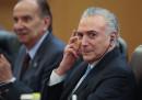 Il presidente del Brasile Michel Temer è stato formalmente accusato di ostruzione alla giustizia e associazione a delinquere