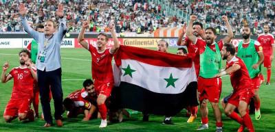 La nazionale di calcio della Siria si è qualificata all'ultimo turno di qualificazione per i Mondiali