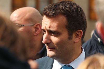 Florian Philippot, vicepresidente del Front National, ha lasciato il partito