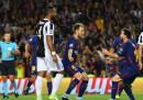 La Juventus è stata battuta 3-0 dal Barcellona