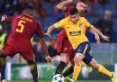 Roma-Atletico Madrid è finita 0-0