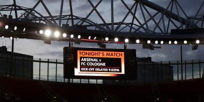 I disordini prima di Arsenal-Colonia