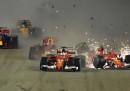 Le due Ferrari si sono ritirate al primo giro del GP di Singapore