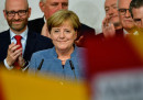 In Germania ha vinto Merkel