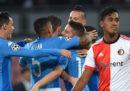 Il Napoli ha battuto 3-1 il Feyenoord