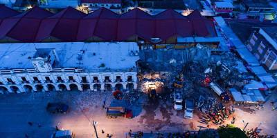 I morti per il terremoto in Messico sono almeno 61