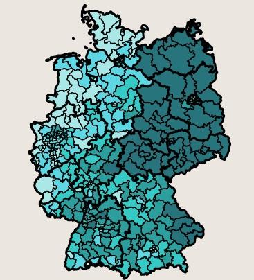 Percentuali AFD secondo voto
