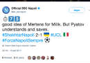 I migliori tweet in inglese del Napoli