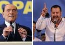 Cosa fanno Salvini e Berlusconi