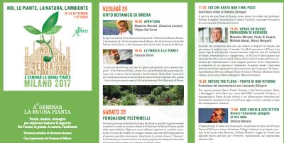 """La nuova edizione di """"A seminar la buona pianta"""" sarà a Milano dal 29 settembre all'1 ottobre"""
