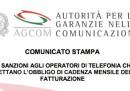 L'AgCom vuole multare Tim, Wind Tre, Vodafone e Fastweb perché rinnovano le offerte ogni 4 settimane, invece che ogni mese