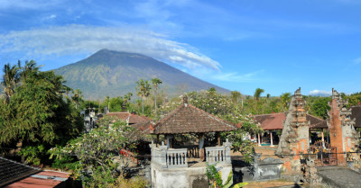 C'è molta preoccupazione per un vulcano a Bali