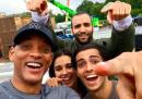 La prima foto del cast di Aladdin (c'è anche il Genio)