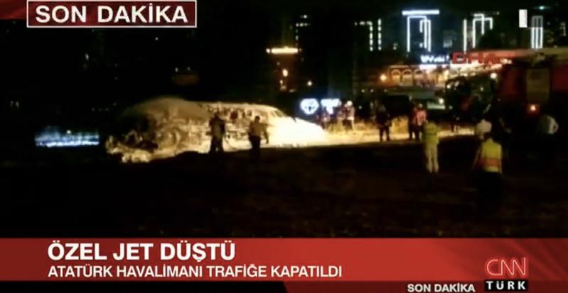 Jet Privato Aeroporto : Un jet privato si è schiantato all aeroporto atatürk di