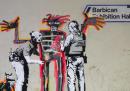 I due nuovi murales di Banksy, per Jean-Michel Basquiat