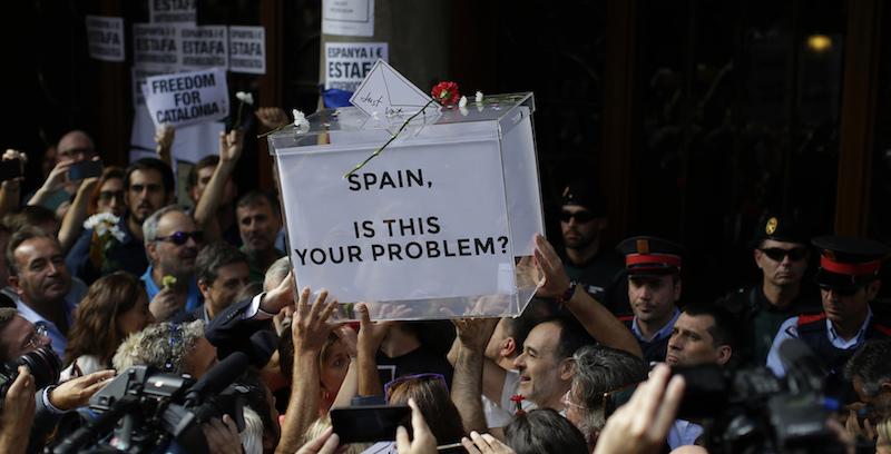 Le proteste a Barcellona contro la Spagna - Il Post