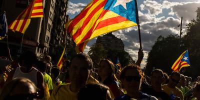 C'è molta tensione intorno al referendum in Catalogna