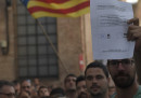 La Guardia civile spagnola sta facendo delle perquisizioni negli edifici del governo catalano