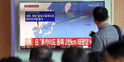 La Corea del Nord ha lanciato un altro missile sul Giappone