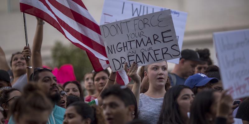 protesta DACA stati uniti