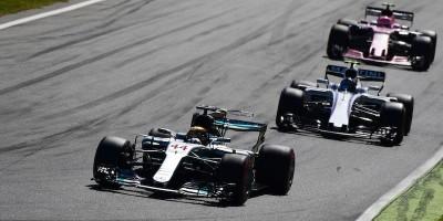 Hamilton ha vinto il Gran Premio d'Italia