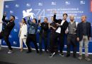 Luca Tommassini,Serena Rossi,Marco Manetti,Antonio Manetti,Claudia Gerini,Giampaolo Morelli,Raiz and Carlo Buccirosso