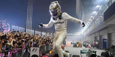 Lewis Hamilton ha vinto il Gran Premio di Formula 1 di Singapore