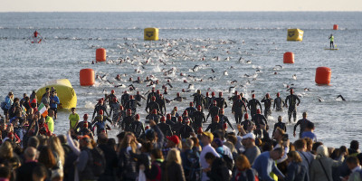 Le foto dal primo Ironman organizzato in Italia