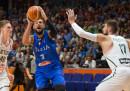 La nazionale di basket ha perso per 73 a 78 contro la Lituania agli Europei