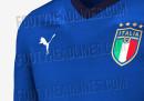 Sono trapelate le foto della nuova maglia della Nazionale italiana di calcio