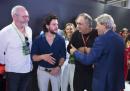 Che ci fanno Jon Snow, Ser Davos, Marchionne e Gentiloni nella stessa foto